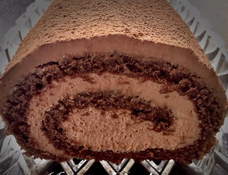 Milka Chocolate Cake Roll