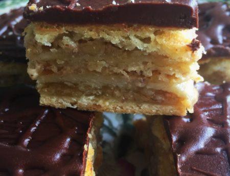 Hungarian Zserbo Cake