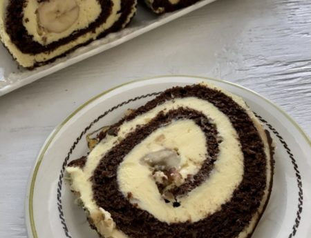 Banana Cake Roll