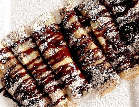Crepes with Custard Cream (Frangipane)