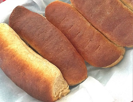 Whole Wheat Sandwich Rolls