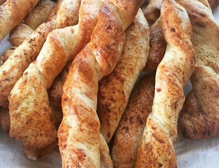 Parmesan Cheese Twists