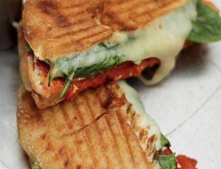 Mediterranean Panini Sandwich
