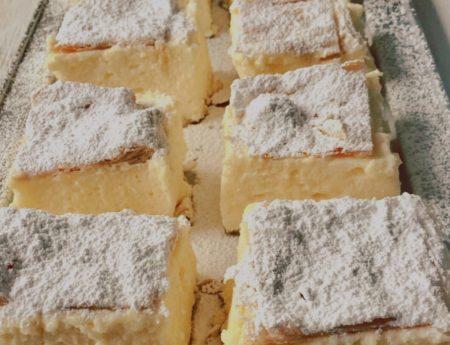Krempita – Vanilla Custard Cake – Vanilla Slice