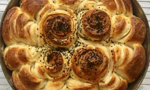 Pull Apart Croissant Bread