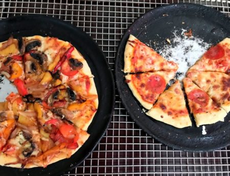 Pizza tjesto sa praskom za pecivo